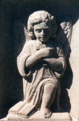 Deep Relief Carving of Cherub