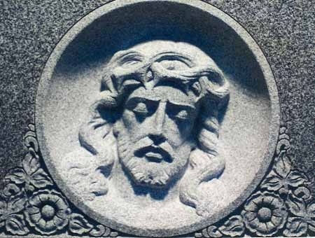 Bas Relief of Christ